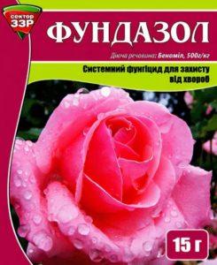 Фундазол для роз
